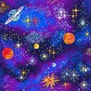 Joy Carpets Fluorescent Space Explorer Area Rug