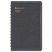 <strong>At-A-Glance</strong> Classic Telephone/Address Book, Wirebound, 4-7/8 x 8, Black, 2012