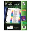 Avery Consumer Products Ecofriendly Ready Index Table of Contents Divider, A-Z Tabs