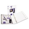 "<strong>Avery Consumer Products</strong> Protect & Store View Binder w/EZ-Turn Ring, 11 x 8-1/2, White, 1"" Capacity"