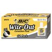 <strong>Bic Corporation</strong> 20 Ml Bottle Wite-Out Quick Dry Correction Fluid (Dozen)