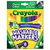<strong>Washable Broad Point Markers (8/Pack)</strong> by Crayola LLC