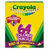 Crayola LLC 3.3 Mm Hb Colored Woodcase Pencil in Assorted (64/Pack)