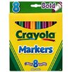 Crayola LLC Coloring Marker Bold Conical 8pk