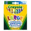 Crayola LLC Washable Crayons Large 8ct