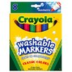 Crayola LLC Washable Coloring Markers 8 Colors