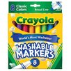 <strong>Classic Marker (8 Pack)</strong> by Crayola LLC