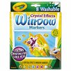 Crayola LLC Crystal Effects Washable Window Markers (8 Pack)