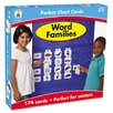 Carson-Dellosa Publishing Word Families Pocket Chart Cards (Pack of 164)