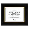 DAX® Hardwood Document/Certificate Frame with Mat, 11 X 14