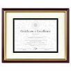 DAX® Document/Certificate Laminated Wood Frame with Mat