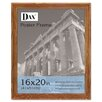 <strong>DAX®</strong> Plastic Poster Frame, Traditional with clear plastic window, 16 x 20, Medium Oak