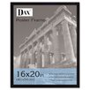 <strong>DAX®</strong> Flat Face Wood Poster Frame with clear plastic window, 16 x 20, Black