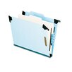 Pressboard Hanging Classification Folder with Dividers, Four-Section, Letter