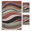 <strong>Majestic Rugs</strong> Primavera Wave 3 Piece Rug Set