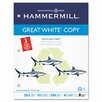 <strong>Great White Recycled Copy 3-Hole Punched Ppr, 92 Brightness, 20Lb, ...</strong> by Hammermill