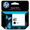 HEWLETT PACKARD SUPPLIES CH561WN OEM Ink Cartridge, 190 Page Yield, Black