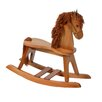 <strong>Storkcraft</strong> PlayTyme Child's Rocking Horse in Cognac Brown