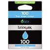<strong>Lexmark International</strong> 100 Ink Cartridge, 200 Page-Yield