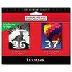 Lexmark International 18C2229 Ink Cartridge, 175 Page-Yield, 2/Pack