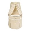 <strong>Elegance Bassinet with Waffle Bedding</strong> by Badger Basket