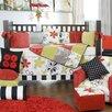 McKenzie 5 Piece Crib Bedding Set with Diaper Stacker
