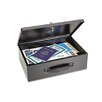 Steelmaster Heavy-Duty Steel Fire-Retardant Security Cash Box