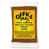 Office Snax 100% Pure Arabica Coffee, Original Blend Decaffeinated, 1.5 oz Packet, 63/Pack