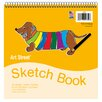 Pacon Corporation 50 Sheet Padded Sketch Book