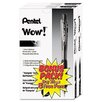 Pentel of America, Ltd. Wow! Ballpoint Retractable Pen, 36 Per Pack