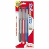 Pentel of America, Ltd. Clic Eraser Pencil-Style Grip Eraser, 3/Pack