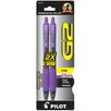 Pilot Pen Corporation of America G2® Fine Point Gel Ink Rollerball Retractable Pen (Set of 6)