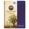 Roaring Spring Paper Products Environotes Wirebound Notebook, 8 1/2 x 11, 1 SUBJ, 80 Sheets, College, Assorted