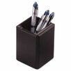 <strong>Rolodex Corporation</strong> Wood Tones Pencil Cup, Black