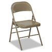 Cosco Bridgeport 60-810 Series All Steel Folding Chairs, 4/Carton