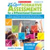 <strong>25 Quick Formative Assessments For</strong> by Scholastic