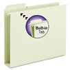 <strong>Box Bottom Hanging Folders, Built-In Tabs, Letter, Moss Green</strong> by Smead Manufacturing Company