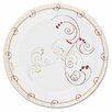 Symphony Design Paper Plates, Poly-Coated 8.5 in, 125/Pack