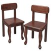 Gift Mark Queen Anne Child's Chair (Set of 2)