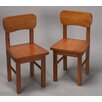 <strong>Rounded Kid's Chair (Set of 2)</strong> by Gift Mark