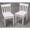 Gift Mark Ladderback Kid's Chair (Set of 2)