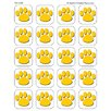 Teacher Created Resources Gold Paw Print Stickers