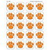 <strong>Orange Paw Print Stickers</strong> by Teacher Created Resources