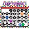 <strong>Colorful Paw Prints Calendar Bb Set</strong> by Teacher Created Resources