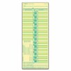 Tops Business Forms Time Card for Lathem, Bi-Weekly, Two-Sided, 500/Box