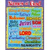 Trend Enterprises Names Of God Learning Chart
