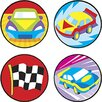Trend Enterprises Superspots Stickers Fast Cars