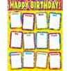 Trend Enterprises Chart Razzle Dazzle Birthday