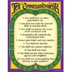 Trend Enterprises Learning Chart Ten Commandments