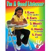 <strong>Learning Chart Im A Good Listener</strong> by Trend Enterprises